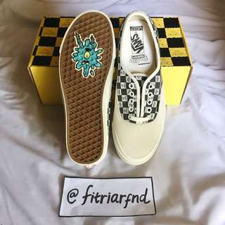 Vans OG Authentic LX Spongebob Yellow Black