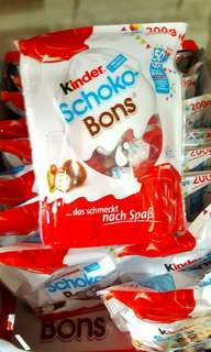 SALE  KINDER BONS @ 185.00
