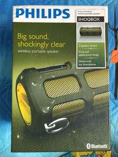 PHILIPS Shoqbox wireless portable speaker