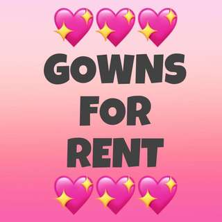 GOWNS (for rent)