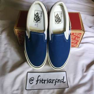 Vans Slip-On DX White Blue