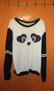 panda sweat shirt