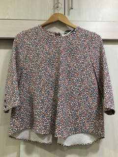 Zara 3/4 Sleeve top