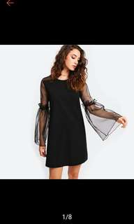 Frilled tunic Dress. (sorry item sold out at this moment)