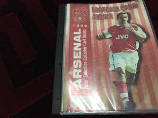 Football card album