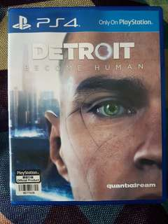 PS 4 - DETROIT BECOME HUMAN