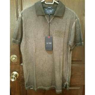 Armani Jeans Men's Casual Shirt - M - Grey