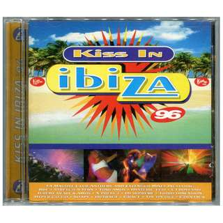 Kiss in Ibiza 96 - Original CD Set (2 Discs/34 Tracks) Dance & Electronica/House & Trance Music