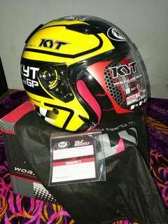 Helmet KYT Moto GP DJ Maru L Limited Kuning