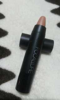[Preloved] Focallure Lips Crayon Matte No 11 Nude Dessert