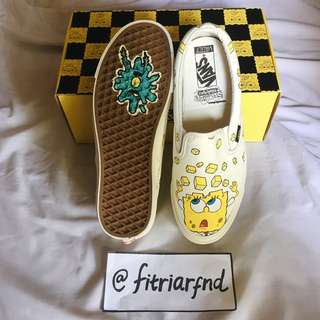 Vans OG Slip-On Spongebob Checkerboard