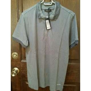 Calvin Klein Collection Men's Casual Shirt - M - Grey