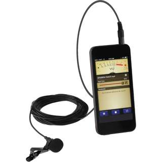 Clip Mic Lavalier (Omnidirectional Condenser Microphone)