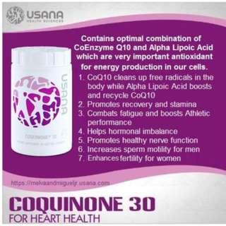 USANA SG Original - CoQ10 CoQuinone 30
