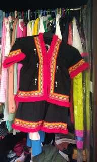 Kadazan Traditional dress