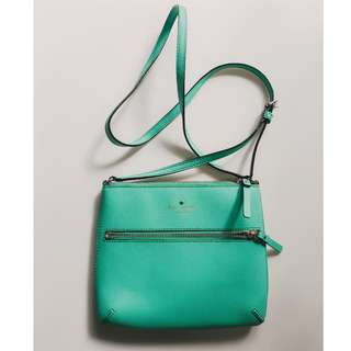 AUTHENTIC Kate Spade Turquoise Messenger sling bag