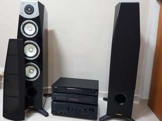 Yamaha, Soavo-1 piano black - floor standing speaker