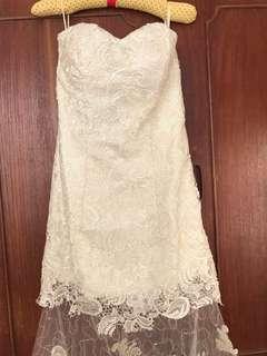 白色輕婚紗