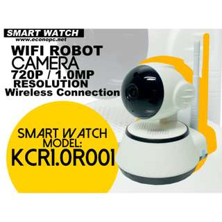 Smart Watch Wifi Robot HD Camera for your Home or Office Use