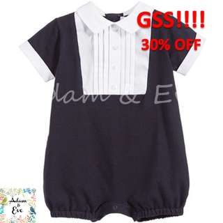 GSS Baby Romper B2 – Navy Formal Romper $14.90 (NOW $10)