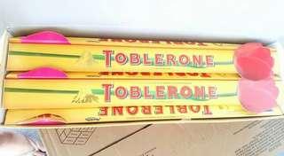 SALE  TOBLERONE LONG ROSE @ 170.00