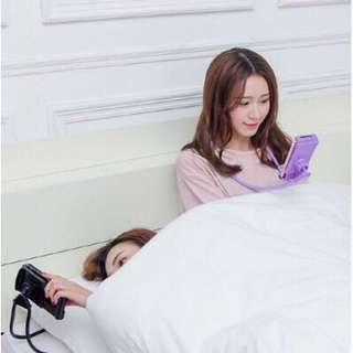 Lazy Hanging Neck Mobile Phone Support Bracket Holder Rack