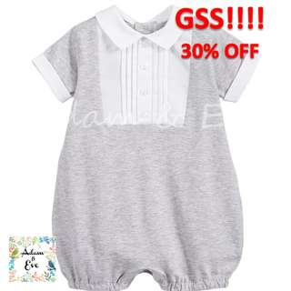 GSS Baby Romper B3 – Grey Formal Romper $14.90 (NOW $10)