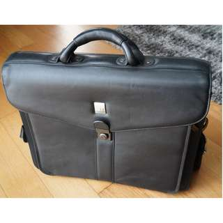 Tas Condotti Leather Briefcase Original