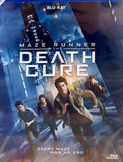 MAZE RUNNER 3 : THE DEATH CUSE BLURAY