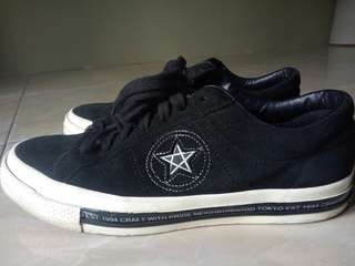 Converse X Neighborhood baru 7x pakai