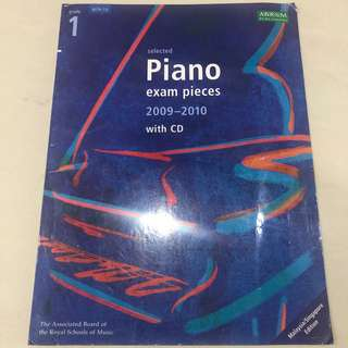 Buku ujian piano - grade 1 - ABRSM piano exam pieces