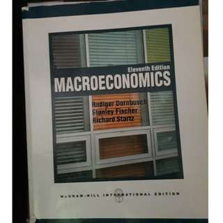 Macroeconomics 11th Edition (Dornbusch, Fischer, Startz)