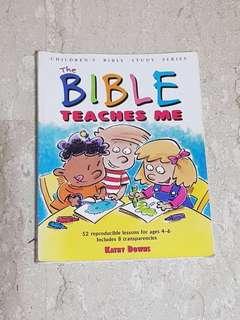 The Bible teaches me (children's bible study series)