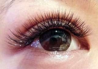 Eyelash extensions Coorparoo