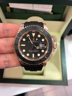 Rolex Yatch Master rose gold
