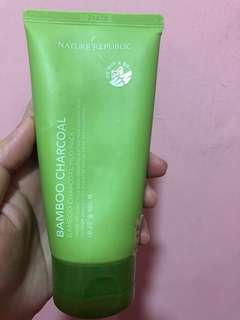Authentic Nature Republic Bamboo Charcoal Mud Pack