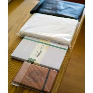 Starbucks Limited Edition Diaries 4 in 1