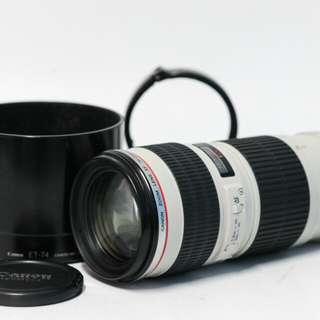 Canon 70-200mm USM F4 L