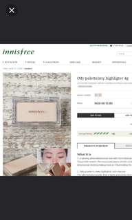 Innisfree My Highlighter (Shade 01 Cream)
