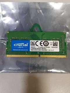 Crucial 8G DDR4.2400