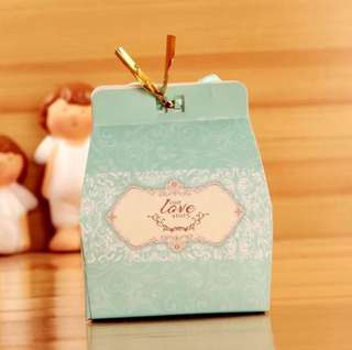 20 pieces Large Box Our Love Story Wedding Door Gift Favors