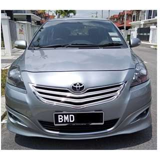 Toyota Vios 1.5 E (Auto) 2013 Direct Owner