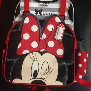 Authentic Minnie Mouse Schoolbag Preloved