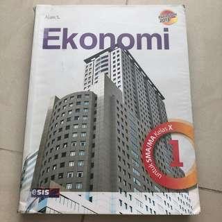 Buku pelajaran - Ekonomi SMA kelas 1 - Alam S