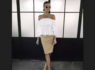 Sheike Havana Off The Shoulder - SIZE 8