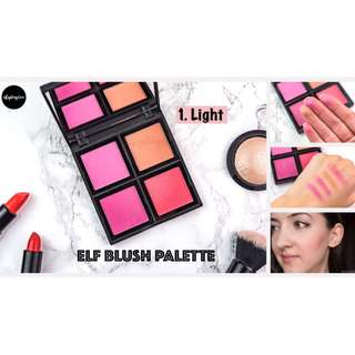 INSTOCKS Elf Powder Blush Palette (Light/Dark)