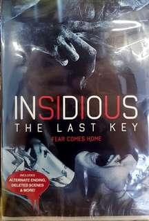INSIDIOUS 4 : THE LAST KEY DVD