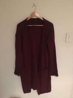 Monk pink cardigan