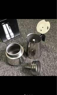 NEW coffee maker/moka pot