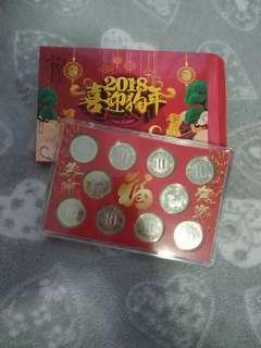 中國人民銀行 2018狗年生肖幣